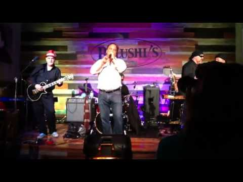 Jim Belushi performs with band