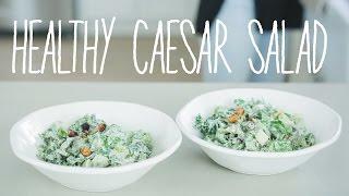 Quick & Easy Vegan Recipes with Daniella Monet // Healthy Caesar Salad