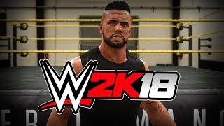 EL RILLES COMEBACK !! WWE 2K18 🔥🔥🔥