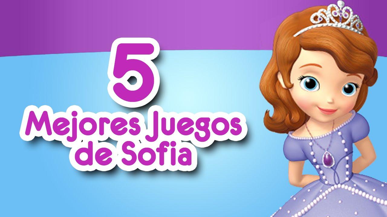 Princesa Sofia Los 5 Mejores Juegos De Sofia Youtube