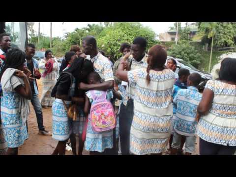 Retour de la première colonie 2017 du Club des Amis d'Accra  L'émotion était à son comble