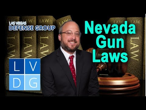 Nevada gun laws – 5 things you need to know
