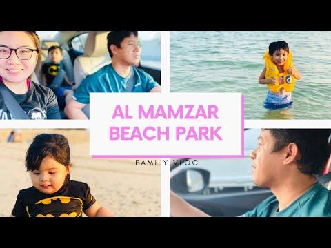 AL MAMZAR BEACH PARK DUBAI | Family Vlog | The Perea Family