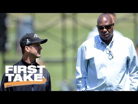 Ravens GM Denies Owner Is Blocking Colin Kaepernick Signing | First Take | ESPN