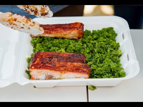 Red, White, and Que KCBS BBQ Competition 2014 - Latham House BBQ Team