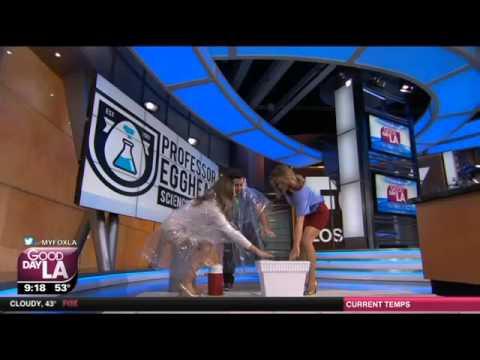 Cool Science Experiment #13 - Liquid Nitrogen Cloud on FOX News