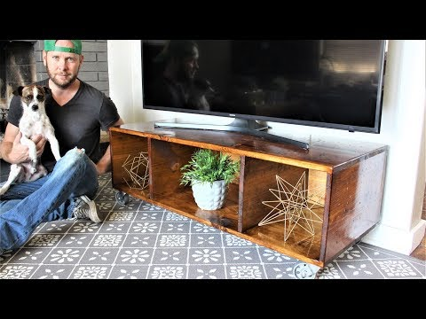 The Easy Peasy TV Cart - DIY Project