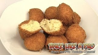 Deep Fried Potato Balls Recipe