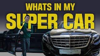 WHATS IN MY CAR? 청담동 피부과 의사의 슈퍼카 속 핫 아이템이 궁금해?! (feat. 벤츠 마이바흐 S500)