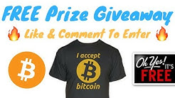 Free Bitcoin Apparel Giveaway | 1k Subscribers 🎉