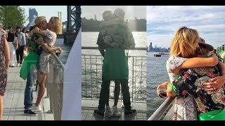 Justin Bieber & Hailey Baldwin kissing hugging & taking pictures with fans in New York June 16 2018