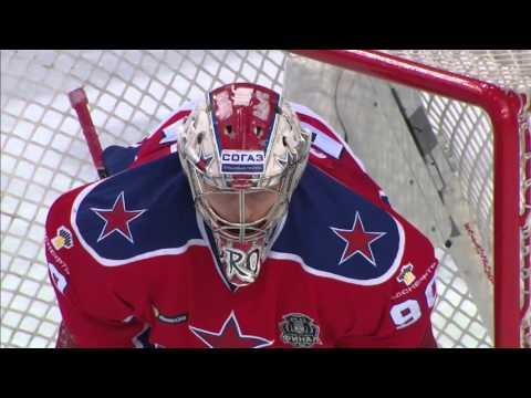 Sorokin robs Wolski with brilliant glove save