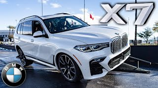 2019 BMW X7 in Action