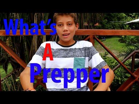 What's A Doomsday Prepper - Kid Prepper