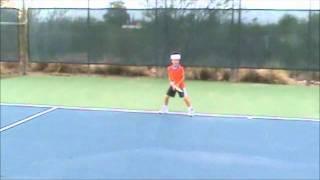Rafael Nadal, by Jared, age 6