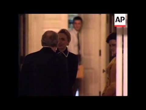 USA: KING HAROLD AND QUEEN SONJA OF NORWAY VISIT