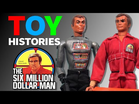 History Of Six Million Dollar Man Toys: Vintage Kenner Action Figure Collection / Review