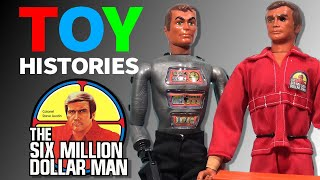 History of Six Million Dollar Man Toys Vintage Kenner Action Figure Collection  Review
