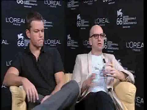 66th Venice Film Festival - Matt Damon - Steven Soderbergh