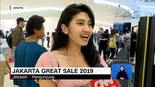 Antrean Panjang di Jakarta Great Sale 2019