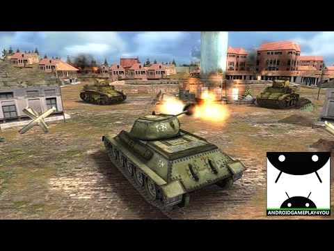 Tank Strike 3D Android GamePlay Trailer [60FPS] (By Doodle Mobile Ltd)