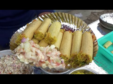 Best Place to Eat Aloo Fingers Chaat in Nagpur | Crispy & Crunchy Evening Snacks |Indian Street