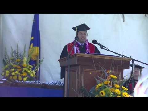2015 UCSC Baskin School of Engineering Undergrad Commencement Speech