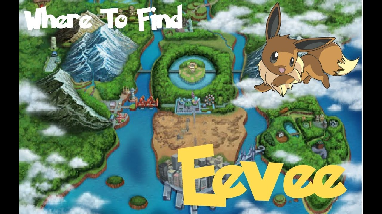 Pokemon black 2 and white 2 where to find eevee youtube gumiabroncs Gallery