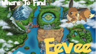 Pokemon Black 2 and White 2- Where To Find Eevee