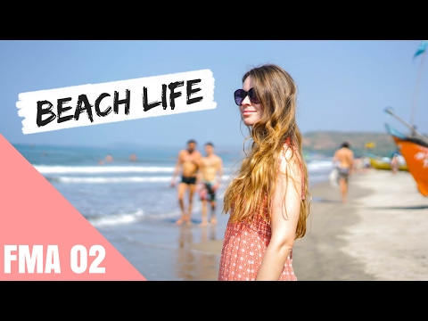 Endlich in Goa!   INDIEN DAILY VLOGS   Lilies Diary