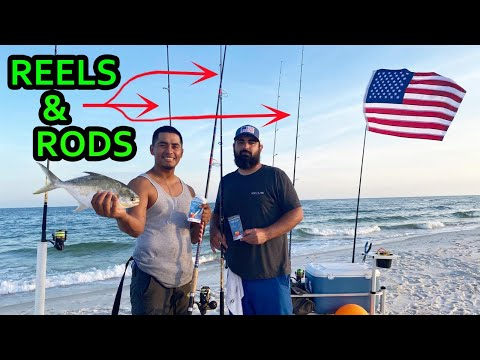 Surf Fishing Rods And Reels! From Beginners To Advanced!