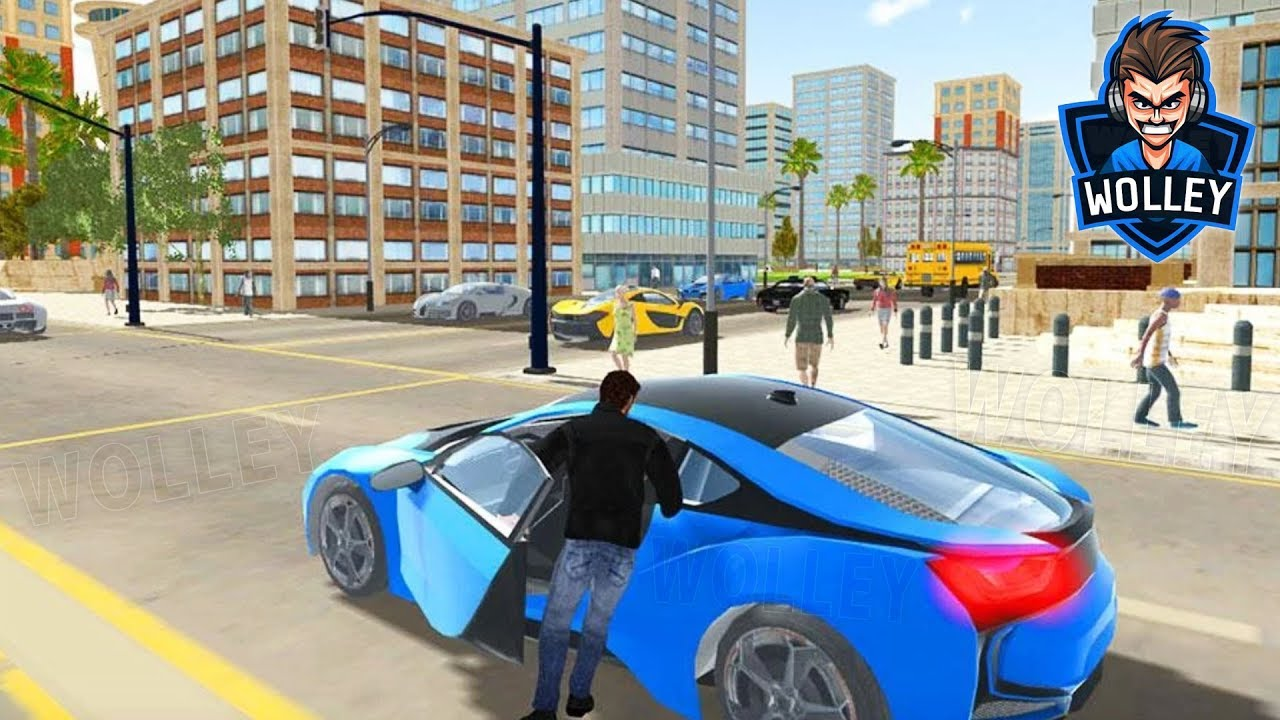 Real City Car Driver   Driving Simulator   Android Gameplay FHD Bikes U0026 Sports  Cars Videos For Kids
