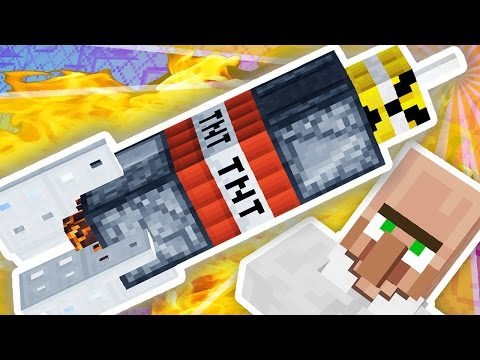 MINECRAFT NUCLEAR MISSILE!!!