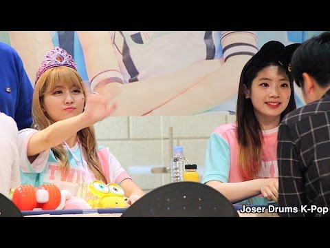 Fancam - TWICE(트와이스) - Fan Sign 160529 Lotte Mall 롯데월드 쇼핑몰