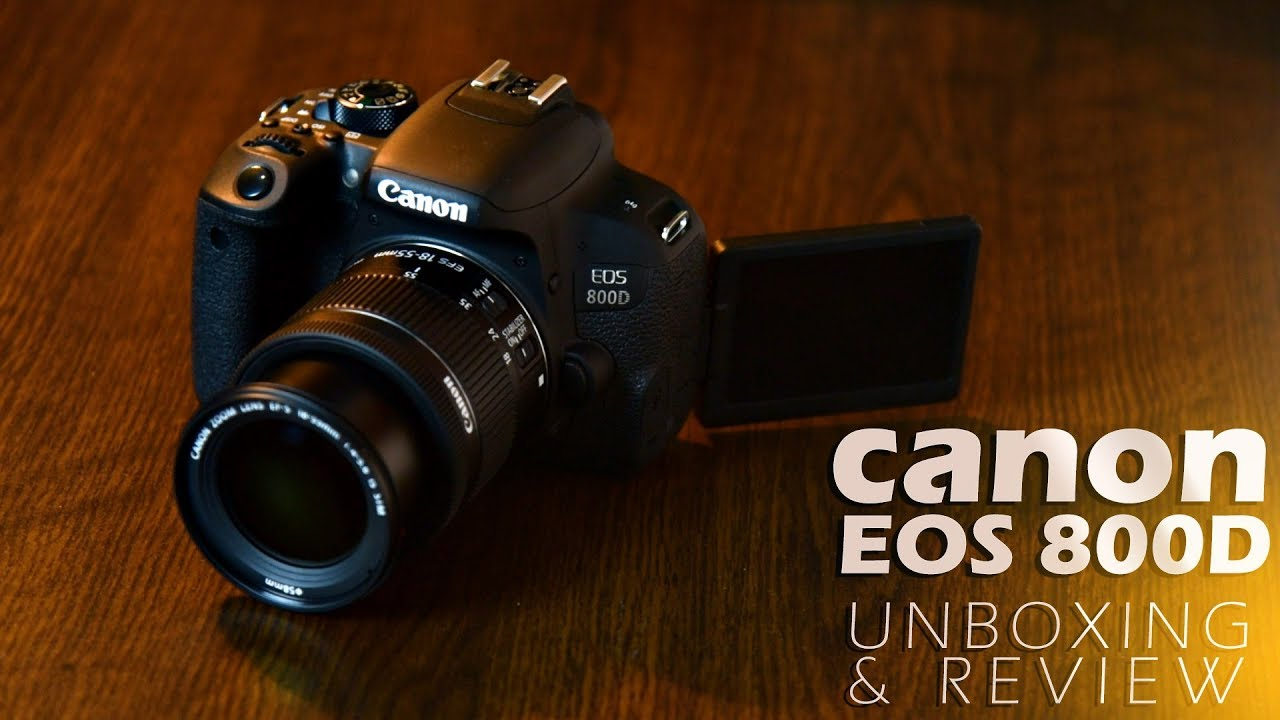 Canon EOS 800d or Canon EOS Kiss X9i or Canon EOS Rebel T7i Unboxing and  Quick Review in Bangla