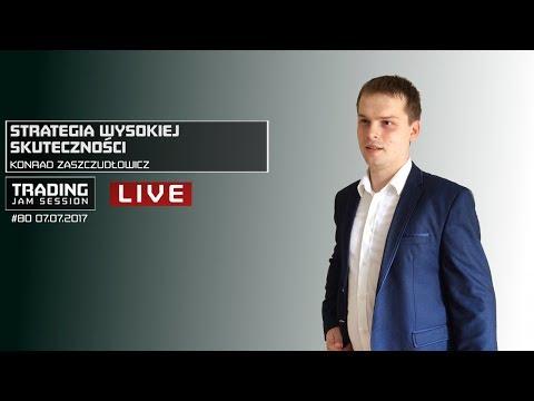 Strategia wysokiej skuteczności, Konrad Zaszczudłowicz, #80 Trading Jam Session