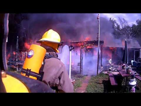 Structure Fire Helmet Cam July 26, 2018