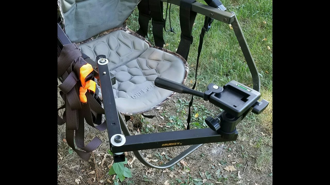 Treestand Mounted Camera Arm - YouTube