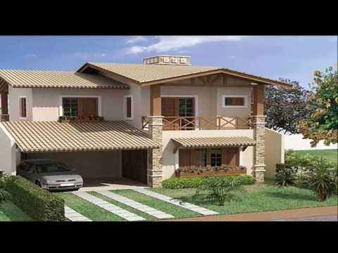 Casas simples e bonitas 18 modelos incriveis youtube for Modelos cielorrasos para casas