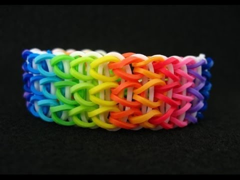 Diy Rainbow Waterfall Bracelet Fun