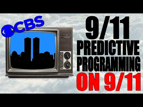 CBS 9 - 9/11 Predictive Programming ON 9/11 as it happened