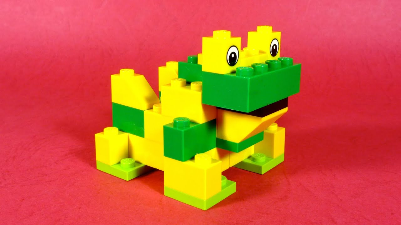 How To Build Lego Frog 4630 Lego Build Play Box Building