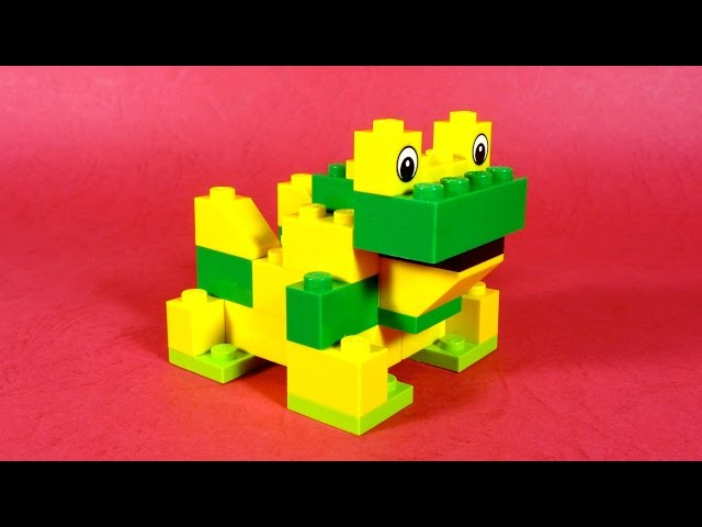 How To Build Lego FROG - 4630 LEGO® Build & Play Box Building Instructions For Kids