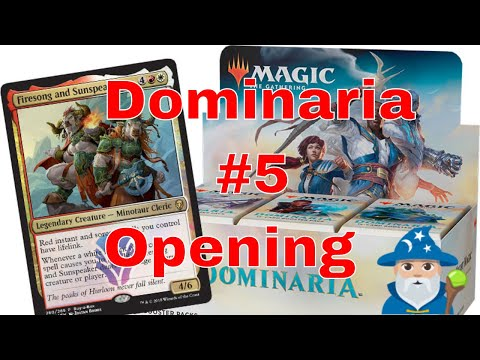 Magic The Gathering Dominaria Opening #5 Big Hit Inside!!!