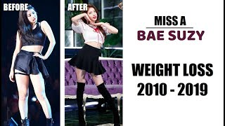 MissA Suzy Weight Loss & Diet 2010 - 2019