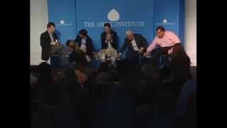 GOP Governors Jindal, Walker, Pence, & Christie panel at Aspen Institute 2013