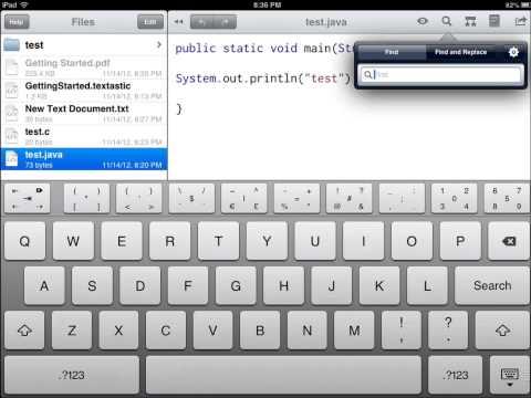 Textastic Code Editor Review