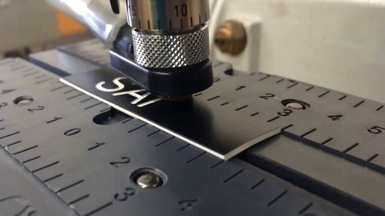 Techno Engraving: The Making of a Name Tag!