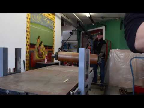 Center Street Studio presents: Moving Day for an Etching Press