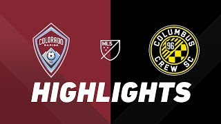 Colorado Rapids vs. Columbus Crew SC | HIGHLIGHTS - May 25, 2019